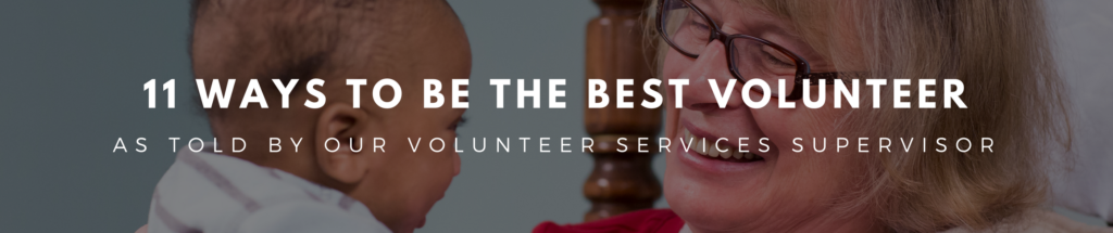 Ways to be the best volunteer